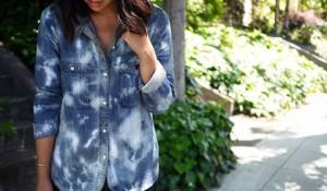 Переделываем вещи: рубашка тай-дай (tie-dye)