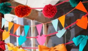 10 способов сделать гирлянду для вечеринки